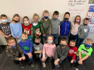 Second-grade classes at Danville Elementary raised money for Hope Haven