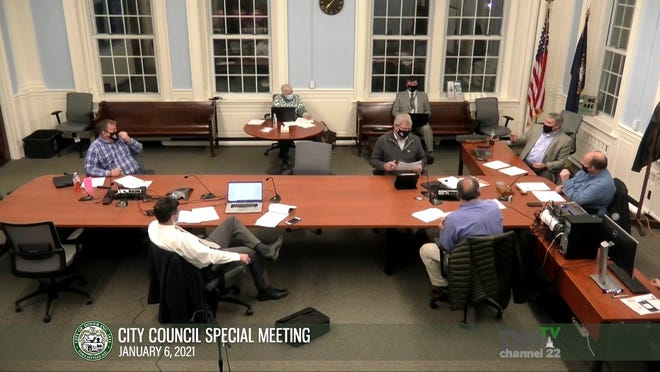 The Dover City Council held a special meeting Wednesday, Jan. 6, 2021 to discuss the opening for the Ward 4 seat on the council.