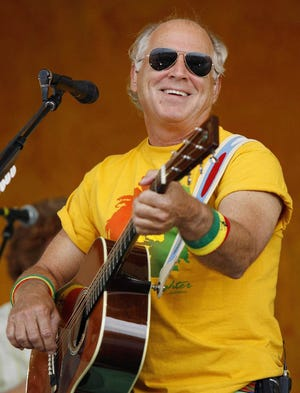 Jimmy Buffett and the Coral Reefer Bandwill perform at Blossom Music Center on Sept. 25.