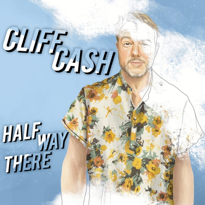The cover of Cliff Cash's new comedy album.