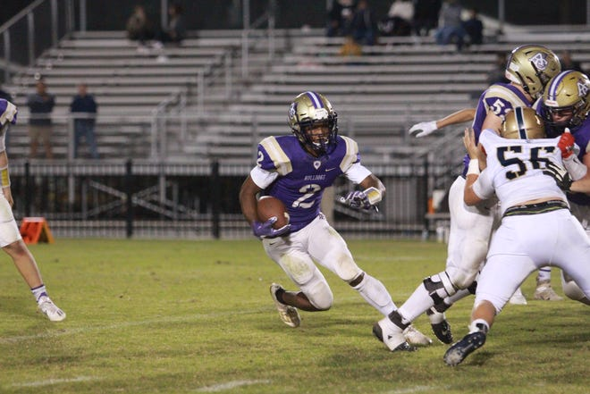 Ascension Catholic sophomore running back Khai Prean was named the district's Co-Offensive MVP.