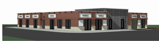 Stuart Rothman's latest proposed design for 1 South Main St. in downtown Natick.