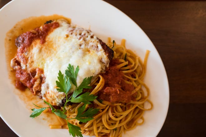 Avvio's chicken parmesan will be among the offerings at Newport Food Group's new project Foodlove.