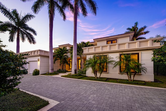 Ronald and Judith Berk have sold for a recorded $12.7 million their remodeled-and-expanded house, which was built in 1951 at 273 Tangier Ave. on the North End of Palm Beach.