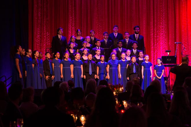 Performances by the Young Singers of the Palm Beaches at the Cultural Council for Palm Beach County's 2018 Muse Awards, at the Kravis Center for the Performing Arts.