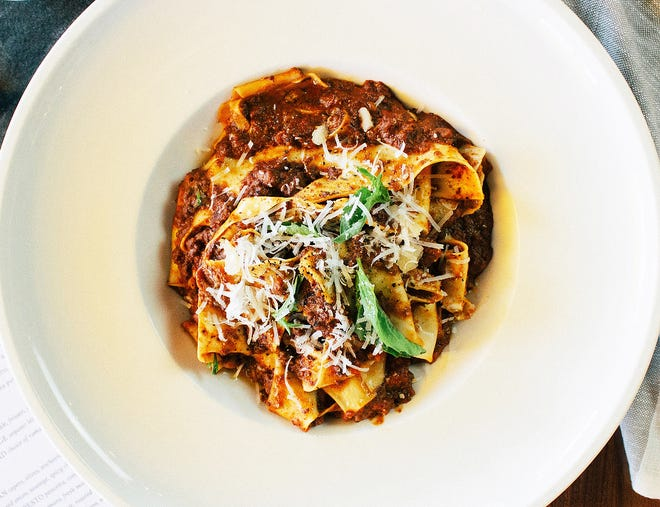 Cucina, an Eat In for Education participant, features pasta Bolognese.