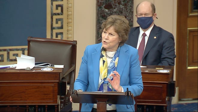 Sen. Jeanne Shaheen, D-N.H., held a virtual call Wednesday to discuss the rollout of the COVID-19 vaccine across the state.