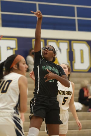 Senior Shyanne Sellers scored 29 points in the Greenmen's win over Tallmadge.