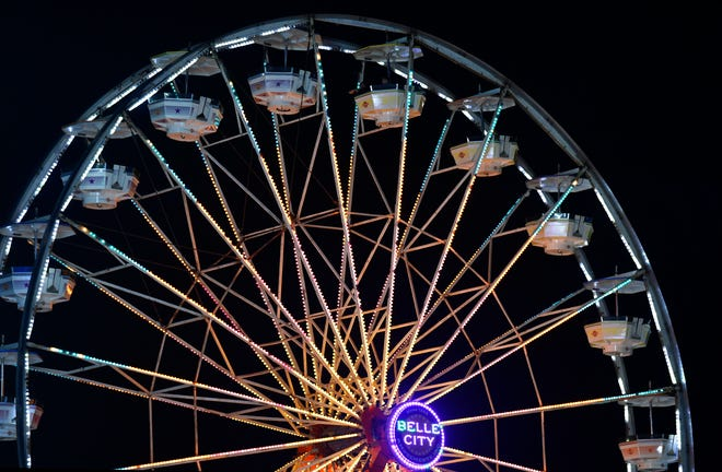 Belle City Amusements will again be offering rides, food vendors and entertainment at the Manatee County Fair, pictured here a year ago.