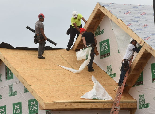 Home builders in the Wilmington area and nationwide have been experiencing project and material delays amid the COVID-19 pandemic and an increased housing demand.
