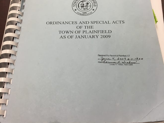 Plainfield's ordinance code book up for revision
