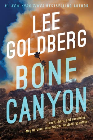 """Bone Canyon"" by Lee Goldberg."