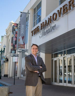 Troy Siebels, president and CEO of The Hanover Conservatory and Theatre for the Performing Arts in Worcester.
