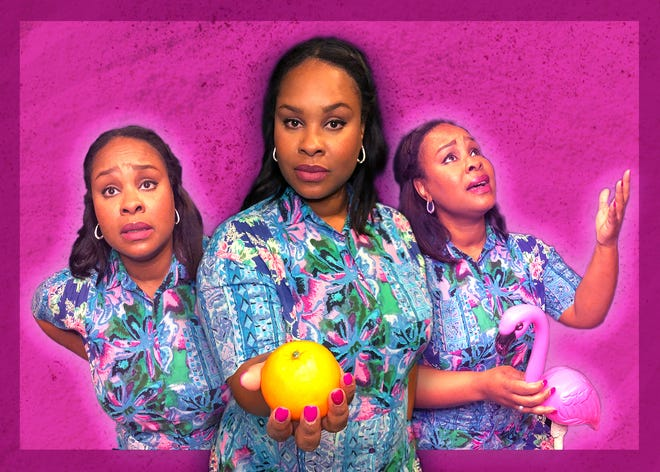 """""""Florida Girls"""" stars Marci J. Duncan, portraying more than a dozen different characters."""