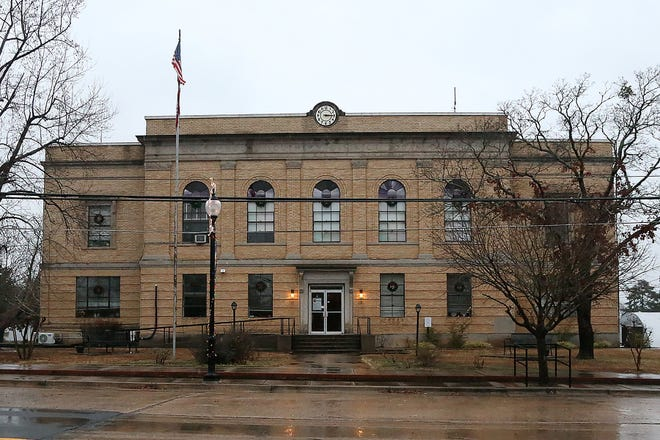 The Courthouse for the Logan County Southern District in Booneville as seen Jan. 6. The Logan County Quorum Court is discussing giving its employees approximately $240,000 in raises.