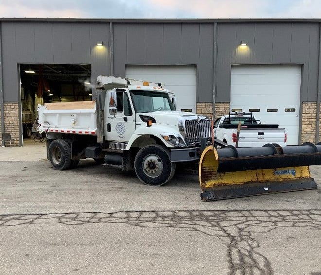 Service Director Andy Bashore said the city is ready when winter weather arrives. He said the service department facility at 1777 Delmar Drive can hold about 400 to 500 tons of salt. Bashore said Bexley has seven snow plow trucks and usually runs four to five trucks at a time.