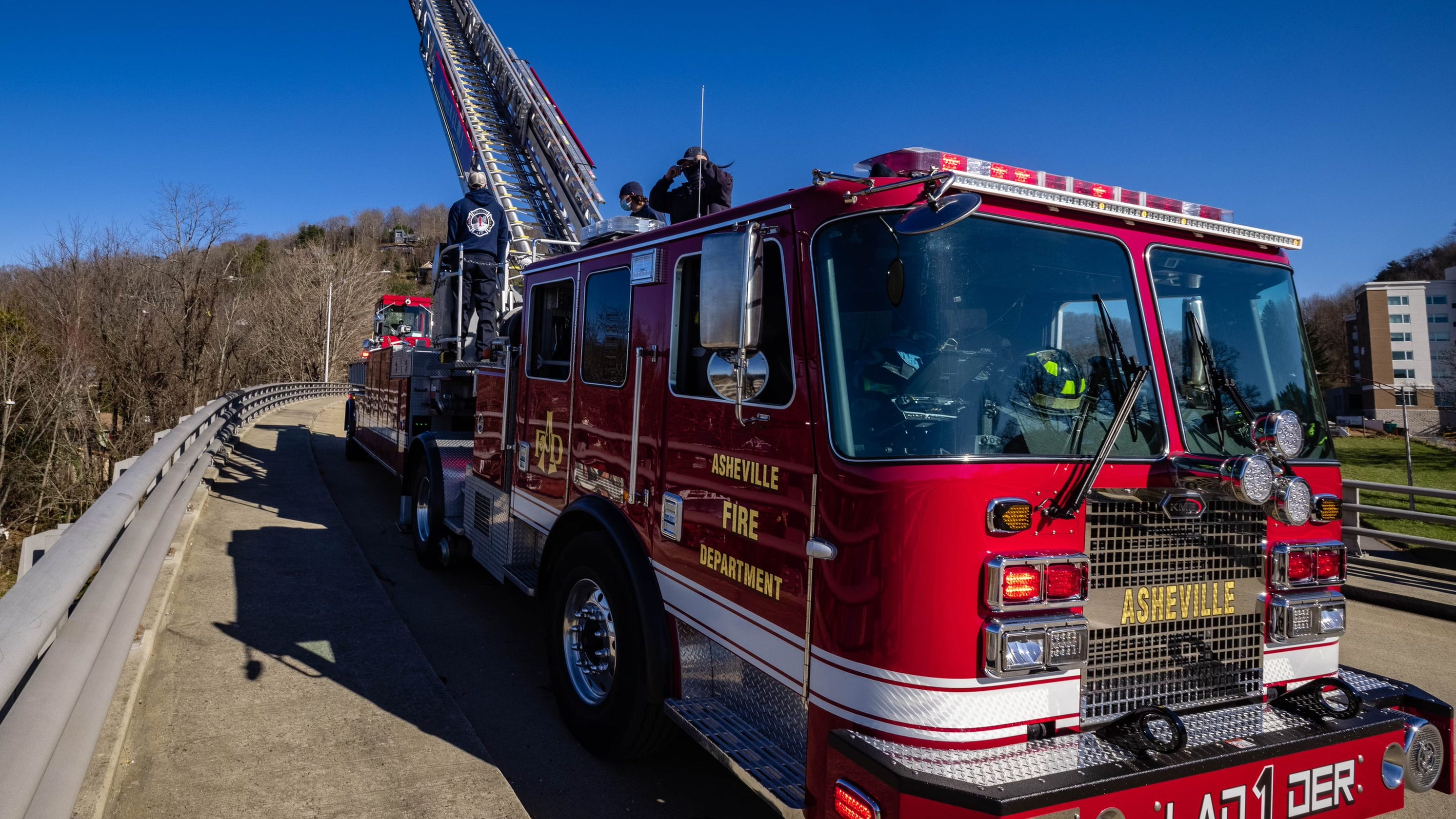 Buncombe County school teacher dies after crash with fire truck