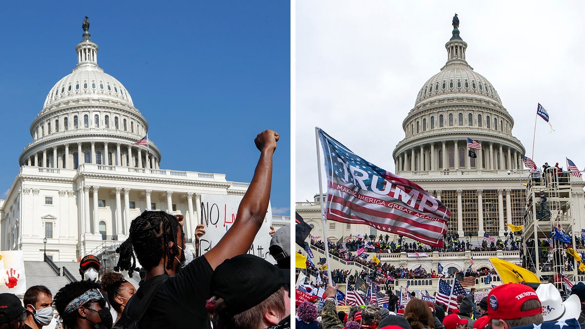 Race double standard clear in rioters' Capitol insurrection 1