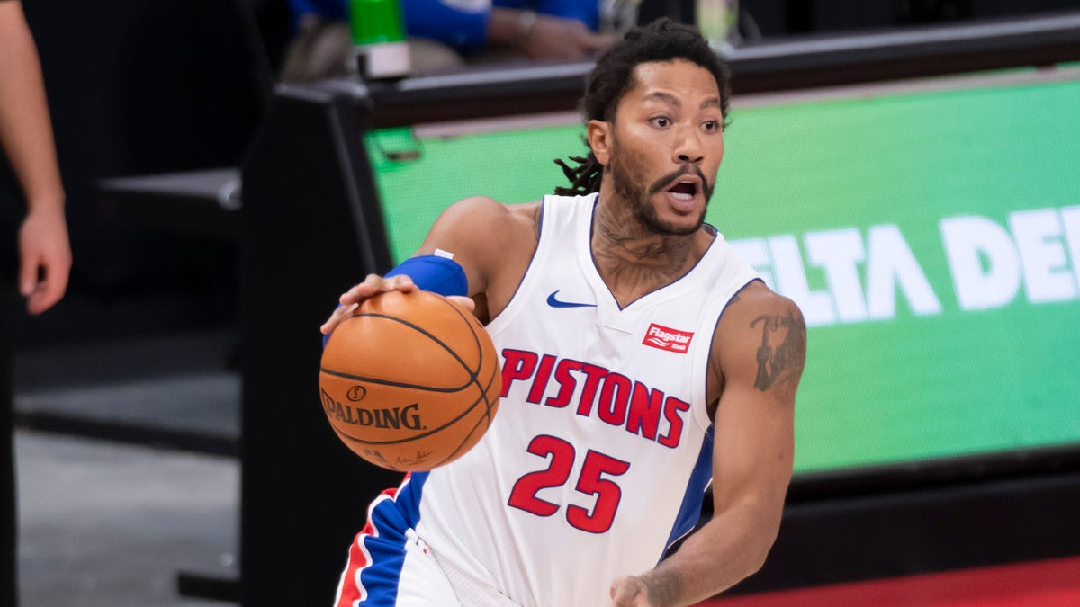 Derrick Rose's injury latest blow at point guard for Pistons 1