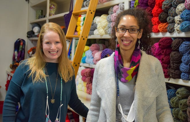 Businesswomen Sandy Widmer and Christie Alter have joined forces to transform two existing downtown Elmore businesses into a new creative studio which will meet the needs of more customers.
