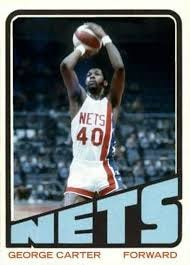 Despite his great success in the ABA, George Carter rarely talked about it.