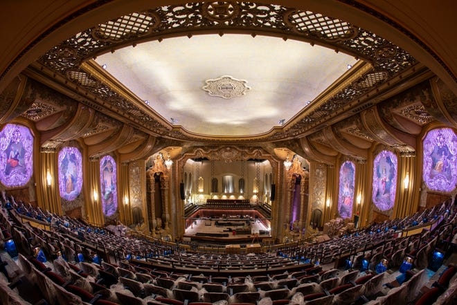 Milwaukee Symphony's new concert home, the Allen-Bradley Hall of the Bradley Symphony Center, is nearly ready for its first concert on Feb. 6.