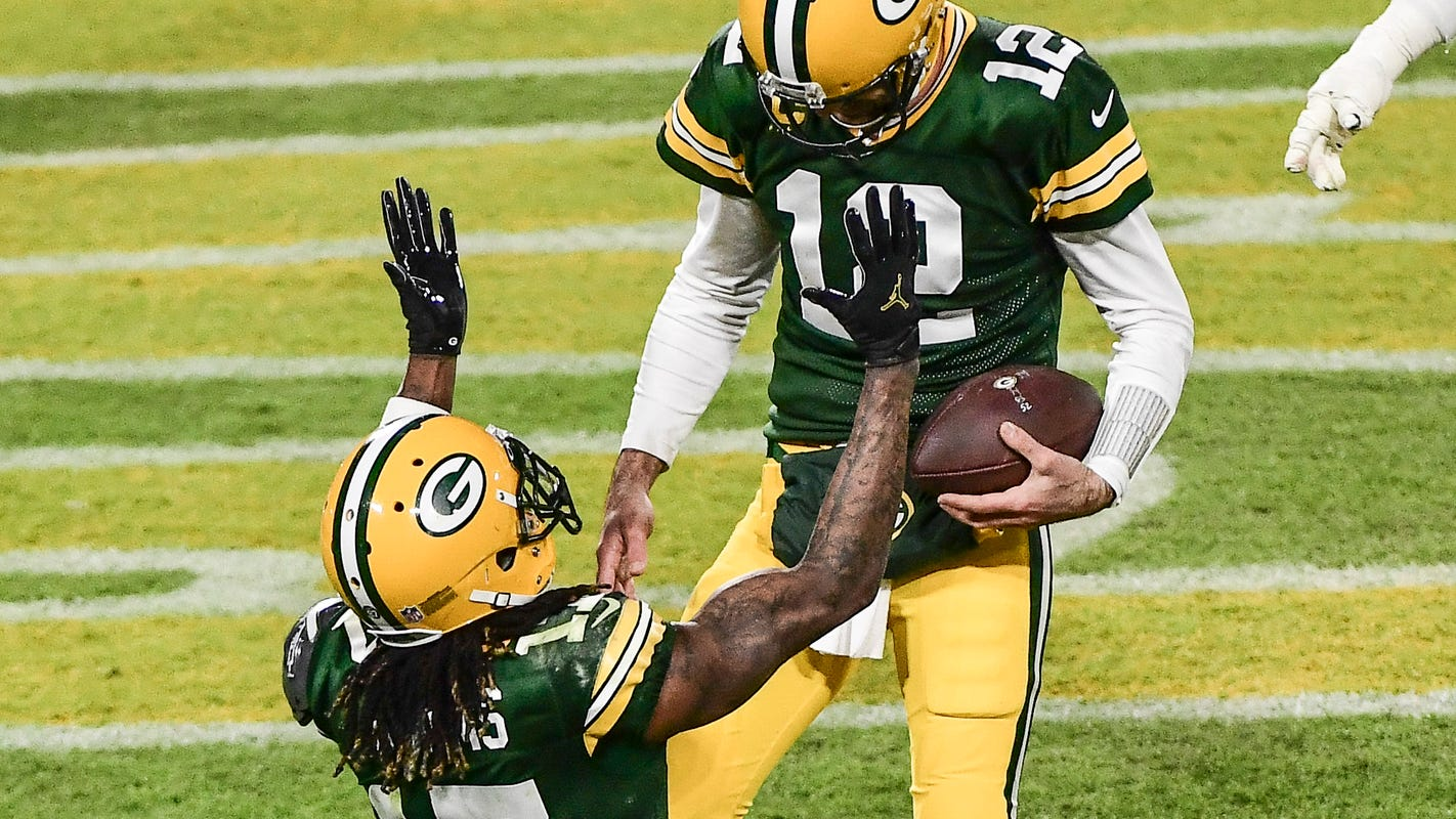 Davante Adams acknowledges own future could be impacted if Aaron Rodgers departs, remains hopeful - Milwaukee Journal Sentinel