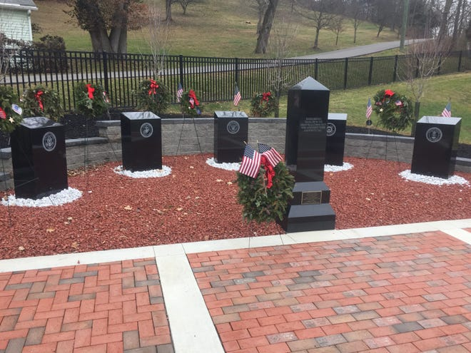 One of Granville Township's 2020 accomplishments was the creation of this Veterans Memorial at Maple Grove Cemetery, along with other major improvements and additions made to the cemetery. The new memorial will be dedicated this Memorial Day.