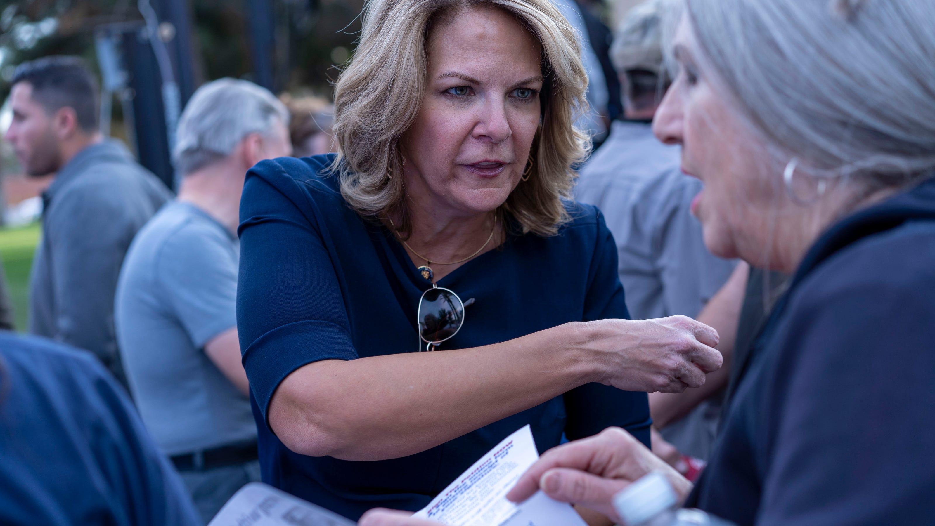 Arizona GOP narrowly reelects Chairwoman Kelli Ward, a Trump loyalist who spread false election fraud claims
