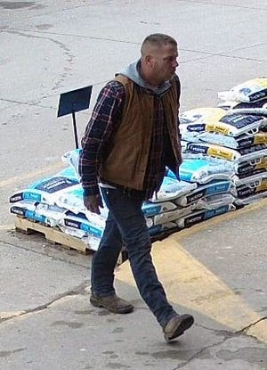 The Sanilac County Sheriff's Office is looking for a subject for questioning in an incident that occurred at Ben's Great Outdoors in Marlette.