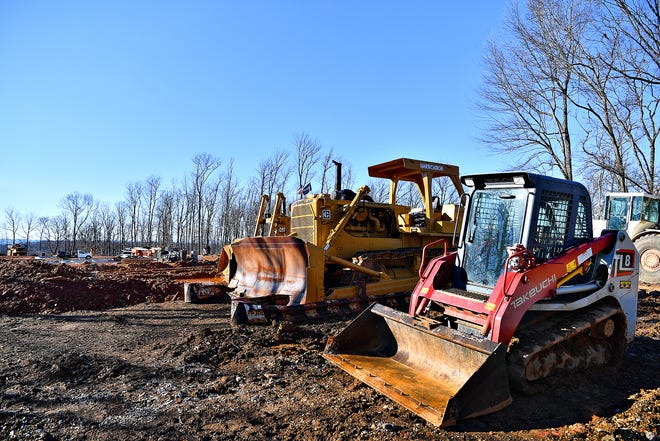 Construction, led by South County Brewing Co., is underway at 170 Crossway Dr. in York Township, Thursday, Jan. 7, 2021. Dawn J. Sagert photo