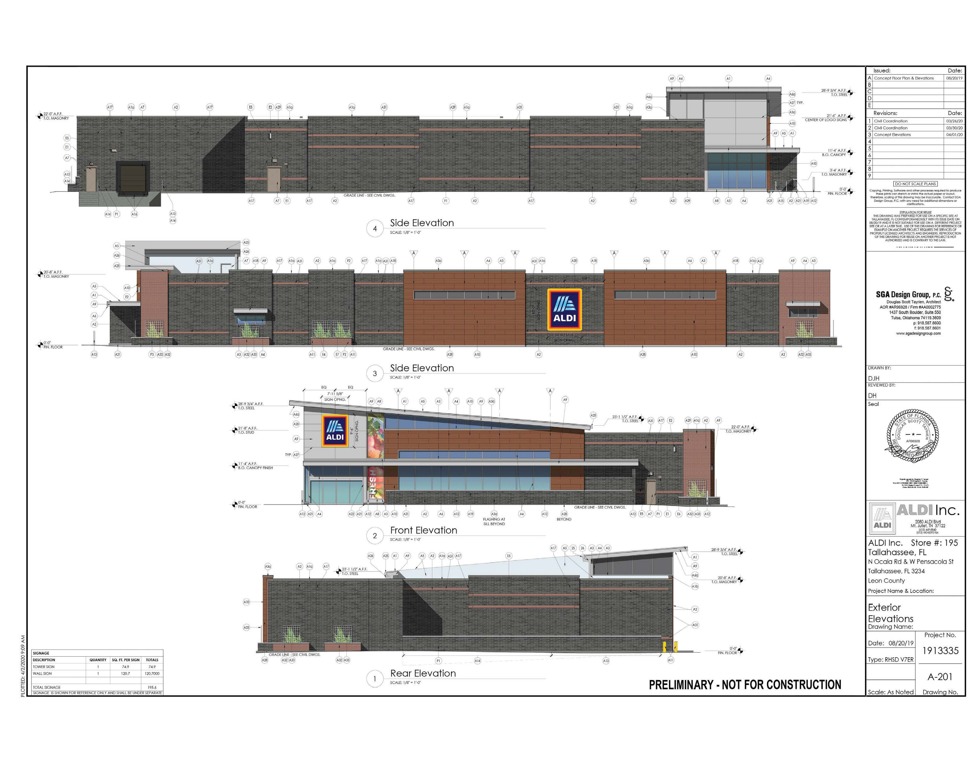 Deal Done To Build A Tallahassee Aldi Supermarket