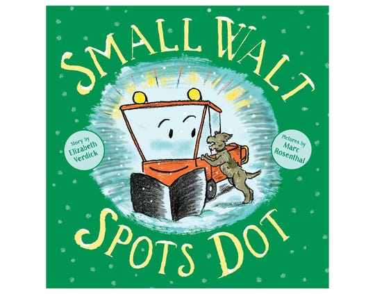"""Small Walt Spots Dot"" by Elizabeth Verdick, illustrated by Marc Rosenthal"
