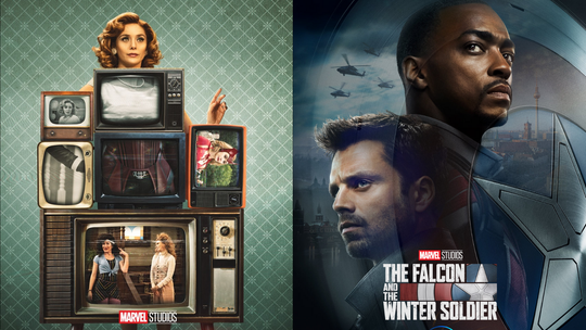 WandaVision and The Falcon and The Winter Soldier will premier on Disney Plus in 2021.