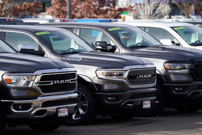 American consumers buy more SUVs and trucks than fuel-efficient vehicles.
