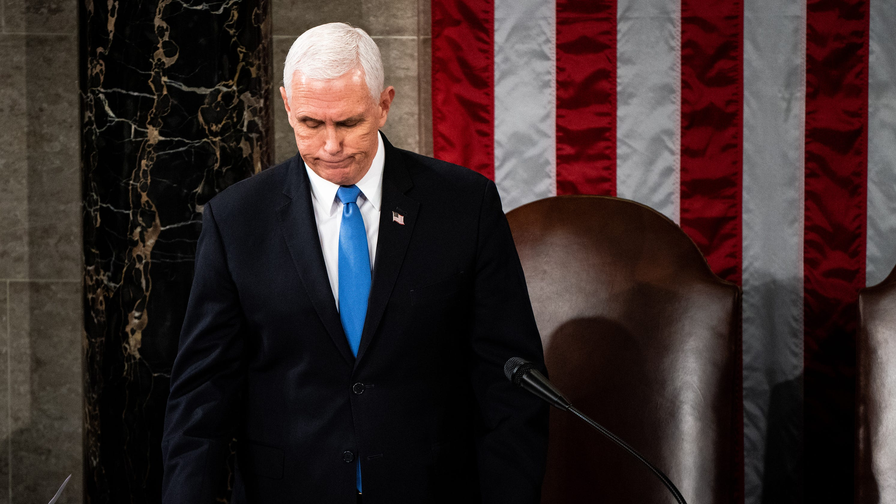 An 'angry' Pence navigates the fallout of his rupture with Trump over election, Capitol riots - USA TODAY