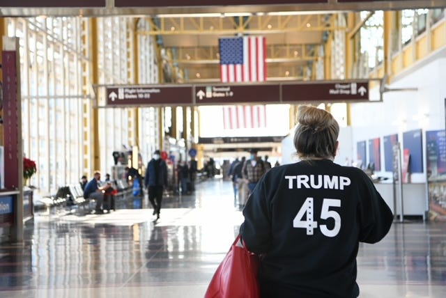 Airlines beefing up security on Washington flights in wake of Capitol riots, in-flight incidents