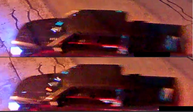 Round Rock police are investigating a New Year's Eve auto-pedestrian collision. Police say the driver of this dark-colored pickup left the scene.