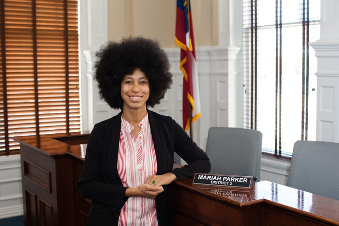 Athens-Clarke County District 2 Commissioner Mariah Parker