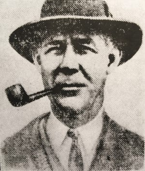 Grantland Rice, famous American sportswriter of the early 1900s.