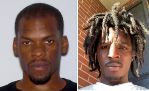 The Richmond County Sheriff's Office is looking for information into the murders of Carl Collins, left, and Ketron McCray, right.
