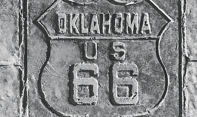 Route 66 motif