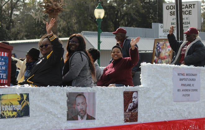 This year's Dr. Martin Luther King Jr. parade and other Garden of Light Committee-sponsored events have been canceled because of COVID-19. Awards for those who were to be honored will be announced at a future date.