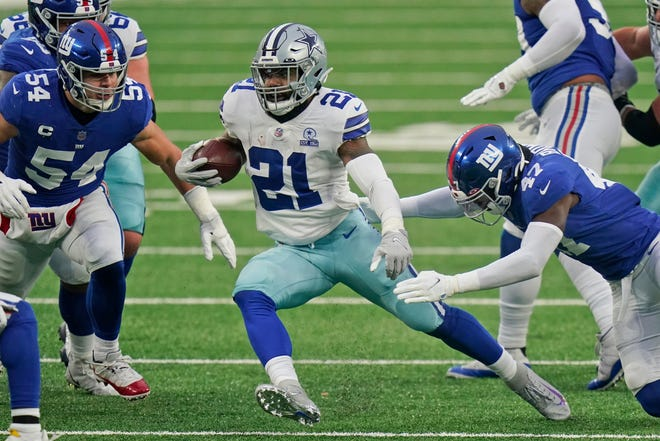 Ezekiel Elliott is coming off the least productive season of his career with 979 yards and six TDs while getting paid nearly $11 million for a team that finished 6-10.