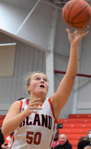 Zoe Miller enjoys playing top competition at Classic in the Country games at Hiland. This year the Hawks are scheduled to take on a top team from Las Vegas.