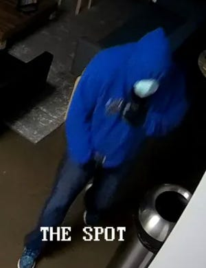 Security cameras recorded an unidentified person break into the The Bridge Church, 3005 Parkfield Loop South on Jan. 4.