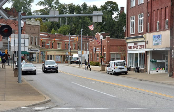 Downtown Union City, looking south on South Main Street, is shown in this September 2018 photo.