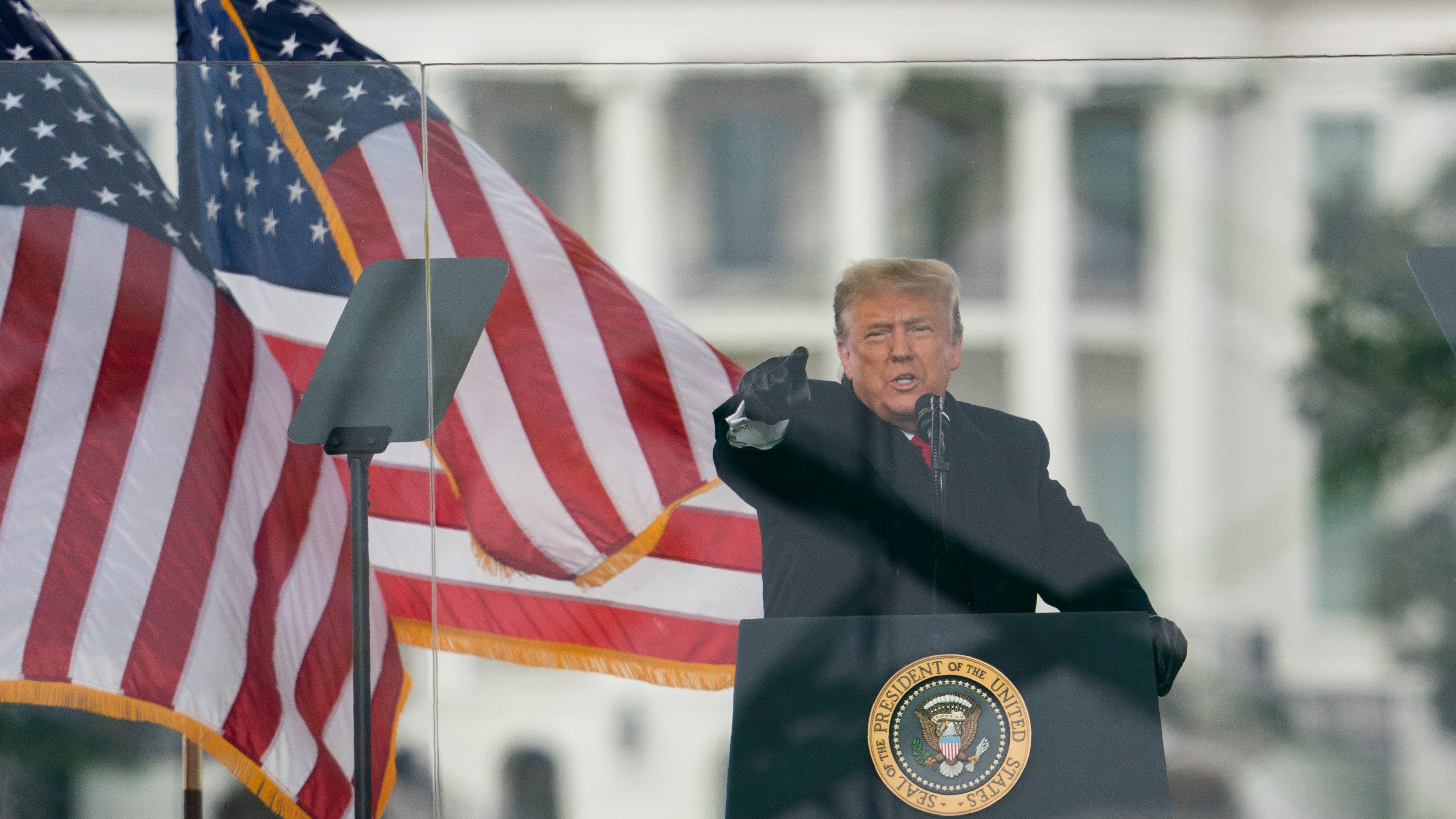 Trump Capitol siege