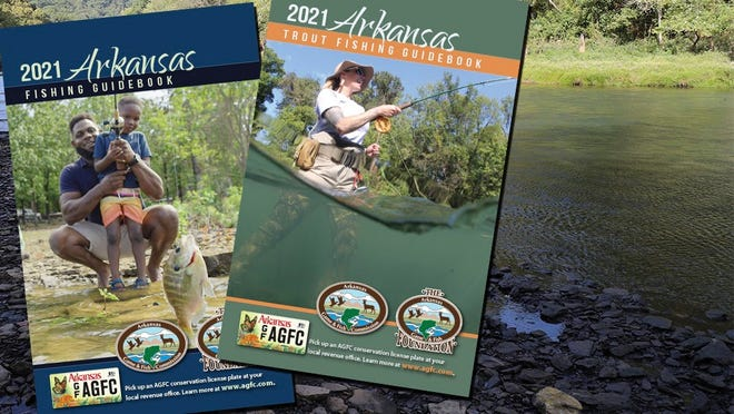 The 2021 Arkansas Fishing Guidebooks are now available online