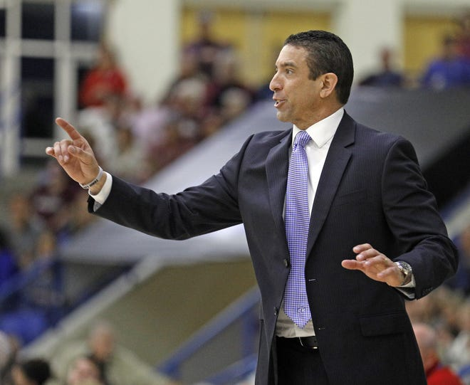 Lubbock Christian University coach Steve Gomez and the third-ranked Lady Chaps host No. 9 Texas A&M-Commerce on Friday and Saturday in a key early season Lone Star Conference series. [BRAD TOLLEFSON/A-J MEDIA]